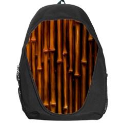 Abstract Bamboo Backpack Bag