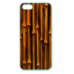 Abstract Bamboo Apple Seamless iPhone 5 Case (Color)