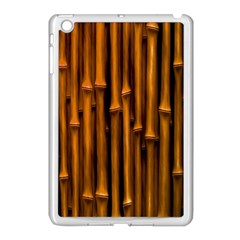 Abstract Bamboo Apple iPad Mini Case (White)