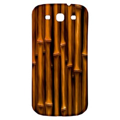 Abstract Bamboo Samsung Galaxy S3 S III Classic Hardshell Back Case
