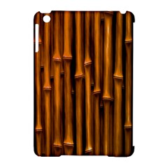 Abstract Bamboo Apple iPad Mini Hardshell Case (Compatible with Smart Cover)