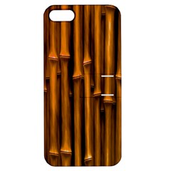 Abstract Bamboo Apple iPhone 5 Hardshell Case with Stand