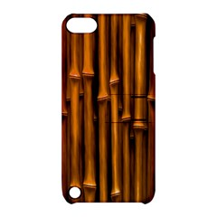 Abstract Bamboo Apple iPod Touch 5 Hardshell Case with Stand