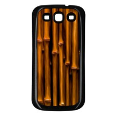 Abstract Bamboo Samsung Galaxy S3 Back Case (Black)