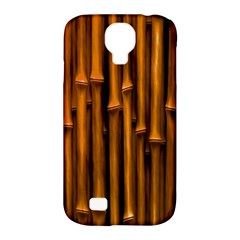 Abstract Bamboo Samsung Galaxy S4 Classic Hardshell Case (PC+Silicone)