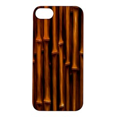 Abstract Bamboo Apple iPhone 5S/ SE Hardshell Case