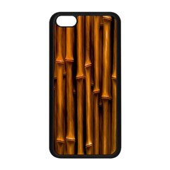Abstract Bamboo Apple iPhone 5C Seamless Case (Black)