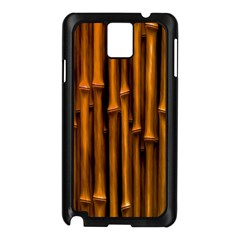 Abstract Bamboo Samsung Galaxy Note 3 N9005 Case (Black)