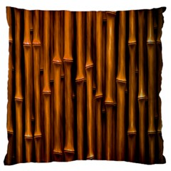 Abstract Bamboo Standard Flano Cushion Case (two Sides)