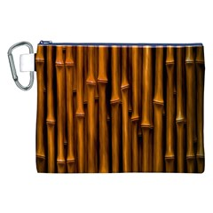 Abstract Bamboo Canvas Cosmetic Bag (XXL)