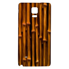Abstract Bamboo Galaxy Note 4 Back Case