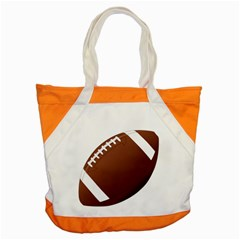 Football American Sport Ball Accent Tote Bag