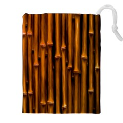 Abstract Bamboo Drawstring Pouches (xxl)