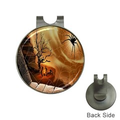 Digital Art Nature Spider Witch Spiderwebs Bricks Window Trees Fire Boiler Cliff Rock Hat Clips With Golf Markers