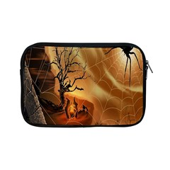 Digital Art Nature Spider Witch Spiderwebs Bricks Window Trees Fire Boiler Cliff Rock Apple iPad Mini Zipper Cases
