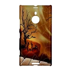 Digital Art Nature Spider Witch Spiderwebs Bricks Window Trees Fire Boiler Cliff Rock Nokia Lumia 1520