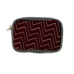 Lines Pattern Square Blocky Coin Purse