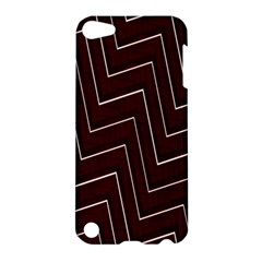 Lines Pattern Square Blocky Apple iPod Touch 5 Hardshell Case