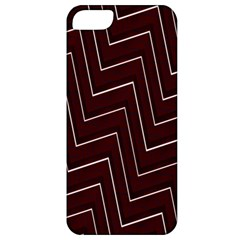 Lines Pattern Square Blocky Apple iPhone 5 Classic Hardshell Case
