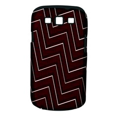 Lines Pattern Square Blocky Samsung Galaxy S III Classic Hardshell Case (PC+Silicone)