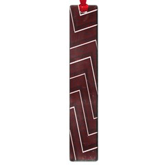 Lines Pattern Square Blocky Large Book Marks