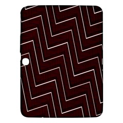 Lines Pattern Square Blocky Samsung Galaxy Tab 3 (10.1 ) P5200 Hardshell Case
