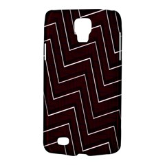 Lines Pattern Square Blocky Galaxy S4 Active
