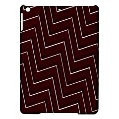 Lines Pattern Square Blocky iPad Air Hardshell Cases