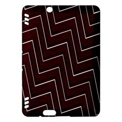 Lines Pattern Square Blocky Kindle Fire HDX Hardshell Case