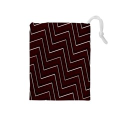 Lines Pattern Square Blocky Drawstring Pouches (medium)