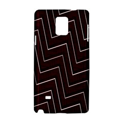 Lines Pattern Square Blocky Samsung Galaxy Note 4 Hardshell Case