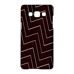 Lines Pattern Square Blocky Samsung Galaxy A5 Hardshell Case