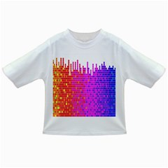 Square Spectrum Abstract Infant/Toddler T-Shirts