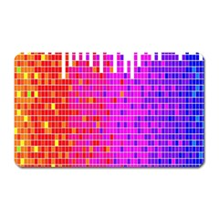 Square Spectrum Abstract Magnet (Rectangular)