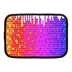 Square Spectrum Abstract Netbook Case (medium)