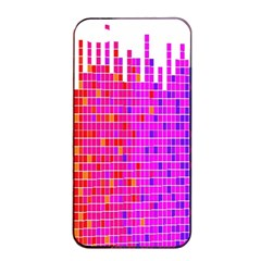 Square Spectrum Abstract Apple iPhone 4/4s Seamless Case (Black)