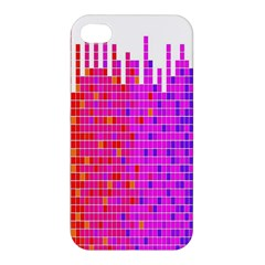 Square Spectrum Abstract Apple iPhone 4/4S Hardshell Case