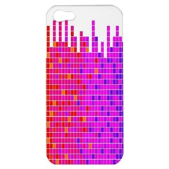 Square Spectrum Abstract Apple iPhone 5 Hardshell Case