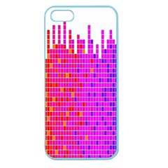 Square Spectrum Abstract Apple Seamless iPhone 5 Case (Color)