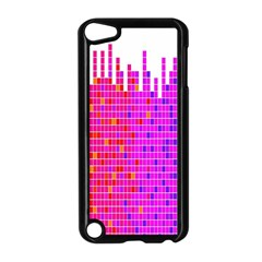 Square Spectrum Abstract Apple Ipod Touch 5 Case (black)