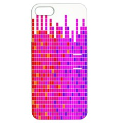 Square Spectrum Abstract Apple iPhone 5 Hardshell Case with Stand