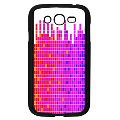 Square Spectrum Abstract Samsung Galaxy Grand DUOS I9082 Case (Black)