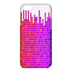 Square Spectrum Abstract Apple Iphone 5c Hardshell Case
