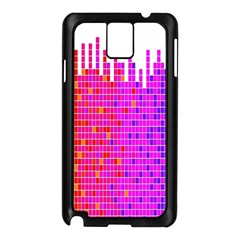 Square Spectrum Abstract Samsung Galaxy Note 3 N9005 Case (Black)