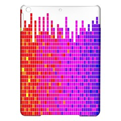 Square Spectrum Abstract iPad Air Hardshell Cases