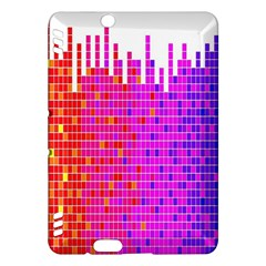 Square Spectrum Abstract Kindle Fire HDX Hardshell Case