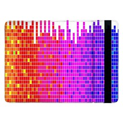 Square Spectrum Abstract Samsung Galaxy Tab Pro 12.2  Flip Case
