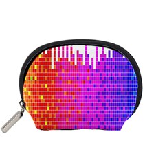 Square Spectrum Abstract Accessory Pouches (Small)