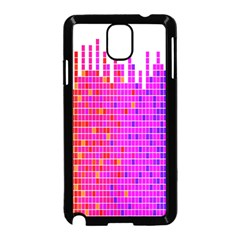 Square Spectrum Abstract Samsung Galaxy Note 3 Neo Hardshell Case (Black)