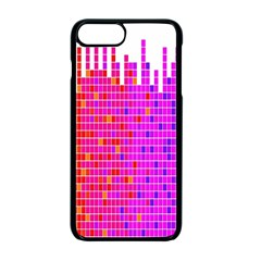 Square Spectrum Abstract Apple Iphone 7 Plus Seamless Case (black)